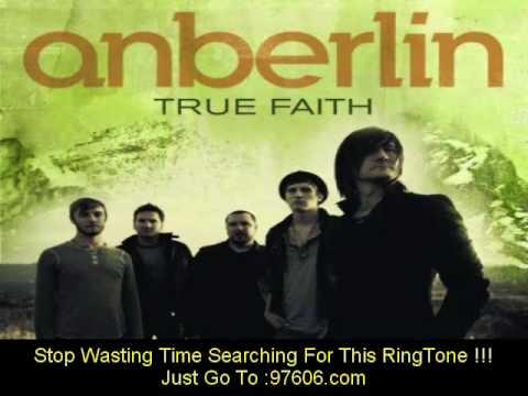 Anberlin - True Faith (w/ lyrics)