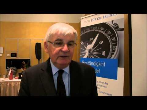 Interview mit Jürgen Morlok, Kuratoriumsvorsitzender der Friedrich Naumann-Stiftung für die Freiheit