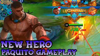 New Hero Paquito Gameplay - Mobile Legends Bang Bang