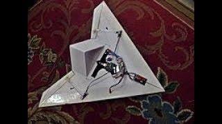 X45 EPP Scratchbuilt Delta Wing flight