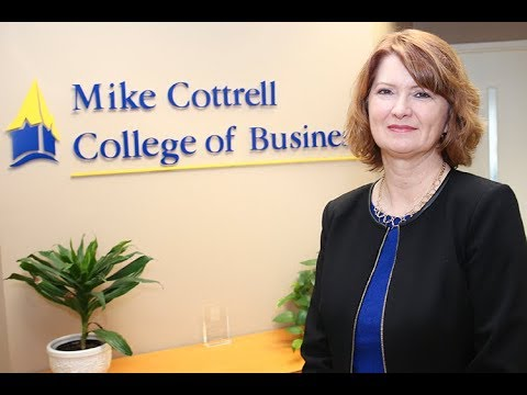 Mike Cottrell College of Business: New dean and new facility