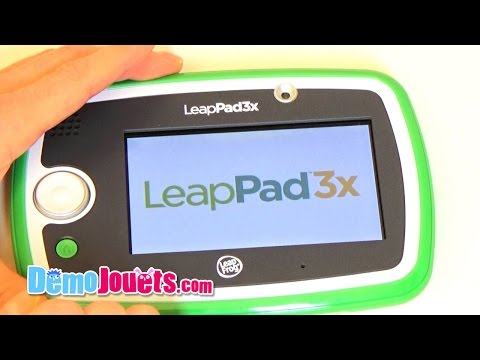 test-leappad-3x-leapfrog---démo-jouets