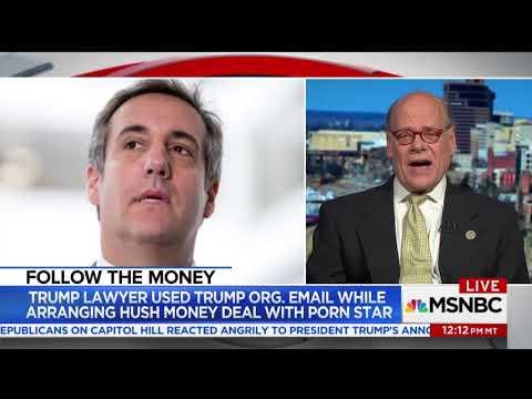 "Congressman Cohen Joins MSNBC to Discuss Possible Trump Campaign ""Hush Money"", Stormy Daniels"