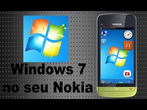Instalando Windows 7 Nokia S60V5/Belle C5-03/5800/5233/C6/X6/N8/C7/701
