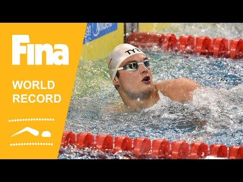 Florent Manaudou | World Record 50m Freestyle | 2014 FINA World Swimming Championships Doha