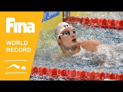 Florent Manaudou   World Record 50m Freestyle   2014 FINA World Swimming Championships Doha