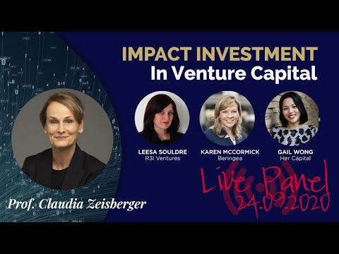Venture Capital has Impact – or does It? | Live Event | Girls In Tech, Singapore 24.09.2020