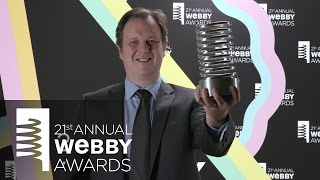 Realifex's 5-Word Speech at the 21st Annual Webby Awards