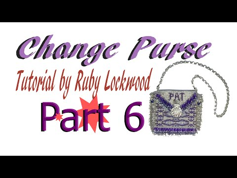 (Tutorial) Beaded Change / Amulet Purse DIY (Video165)