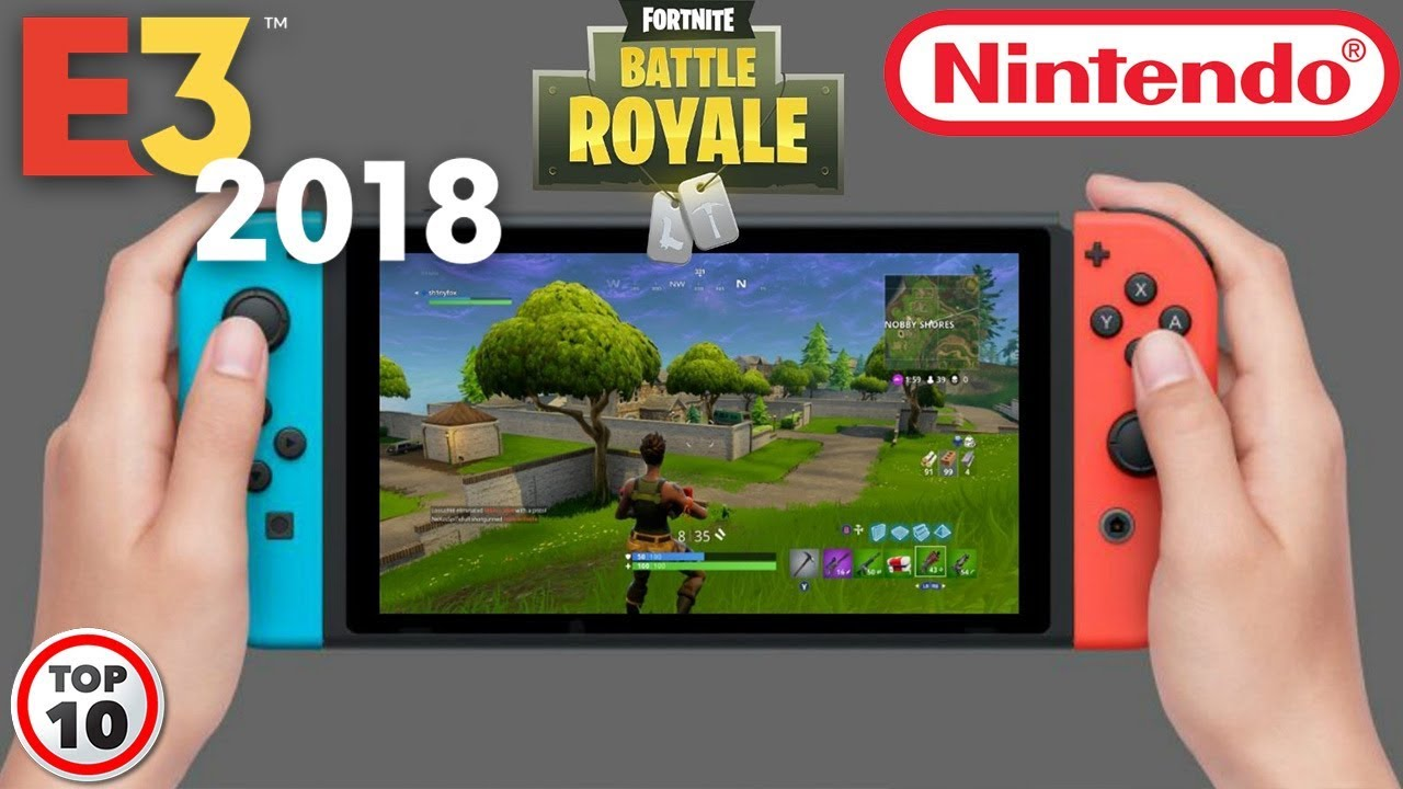 Fortnite Surprise Reveal For Nintendo Switch At E3 2018 Press Conference