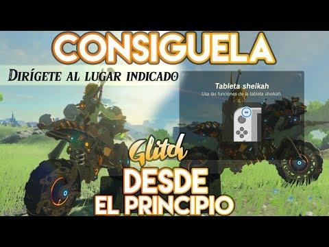 CONSEGUIR LA MOTO HYLIANA DESDE EL PRINCIPIO | GLITCH | ZELDA BREATH OF THE WILD from YouTube · Duration:  11 minutes 1 seconds