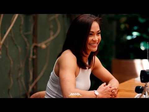 Michelle Waterson UFC on FOX 24 Media Lunch - MMA Fighting