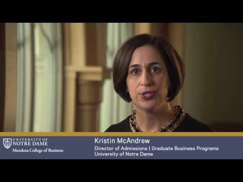 Mendoza Alumni Referrals: Kristin McAndrew