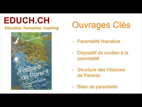 Formation Coaching présentation de la thèse Histoire de Parent