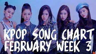 KPOP SONG CHART 2019 | FEBRUARY WEEK 3