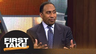 Stephen A. Smith says Lakers have brighter future than Knicks | First Take | ESPN