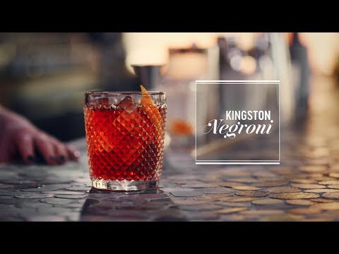 How to make the Kingston Negroni cocktail