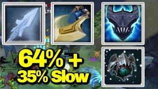 Ultimate Passive With Slow [Great Cleave+Unstable Current]|| Ability Draft || Dota 2