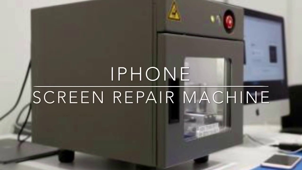 Broken iPhone Repair Machine Review - YouTube