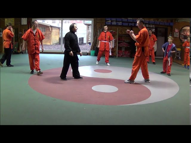 Grandmaster with Shaolin Kung Fu LIVE !