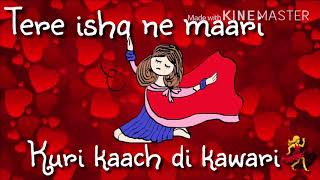 laung laachi lyrics | ammy virk- mannat noor | new whatsaap status viedo by princess choice