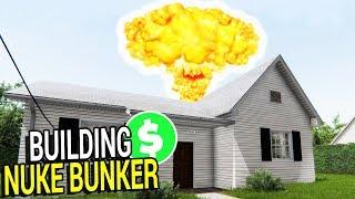 BEST EVER NUKE BUNKER SIMULATOR, BIG $$$ EARNED | House Flipper Gameplay