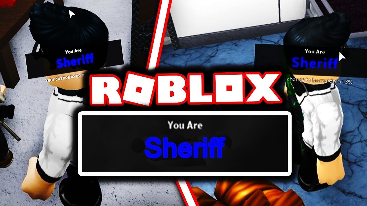 How To Get Sheriff Every Round Roblox Murder Mystery 2 Youtube