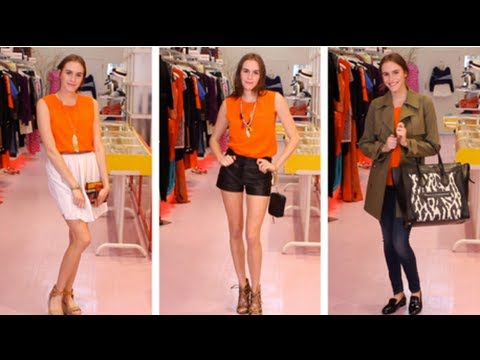 3 Foolproof Ways To Wear Orange! Ways To Wear