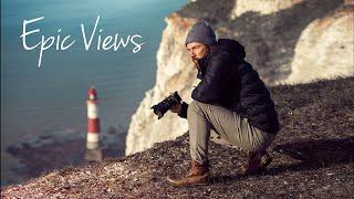 Risky Landscape Photography on a Cliff Edge! (4K)