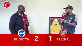 Brighton 2-1 Arsenal | Arsenal Are Spineless! (DT Passionate Rant)
