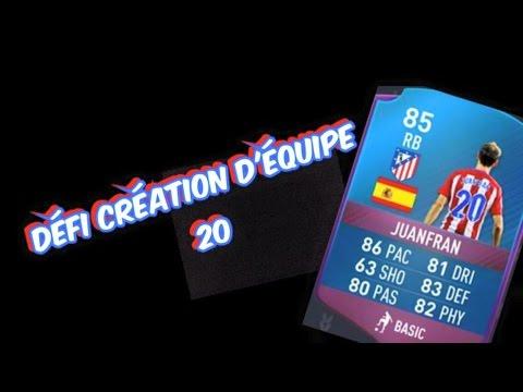 Fifa 17 | Défi Création D'équipe / Juanfran Primé / Pas Chère !!!!!!!