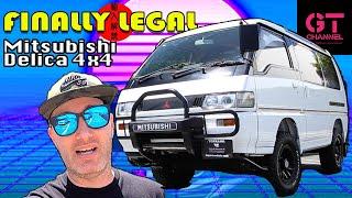 Mitsubishi Delica Perfect JDM Van Life - Finally Legal Ep.2