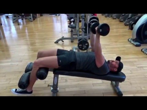 Chest: Dumbbell Decline Rotational Press