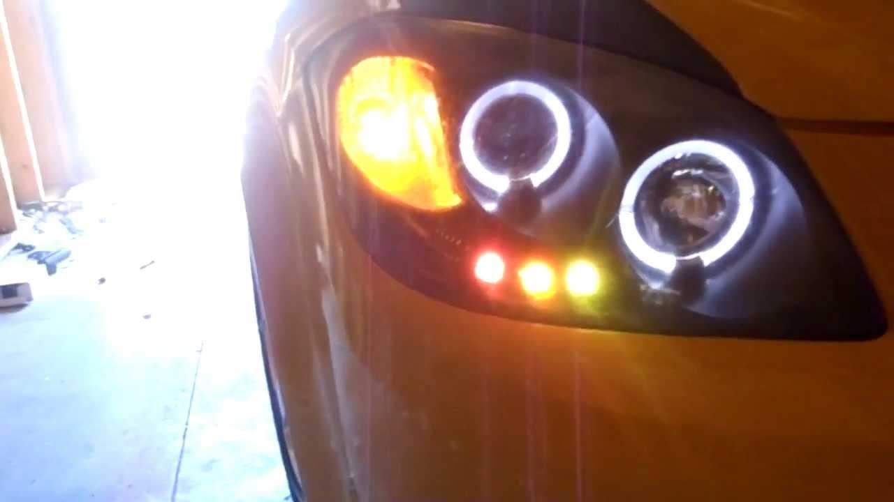 chevrolet cobalt ss halo projector headlights