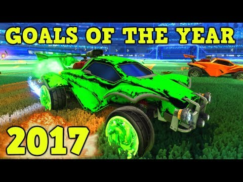 Rocket League: BEST 20 GOALS OF THE YEAR 2017