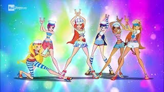 Winx Club 5x13 - Harmonix Transformation (Italian - Rai YoYo HD)