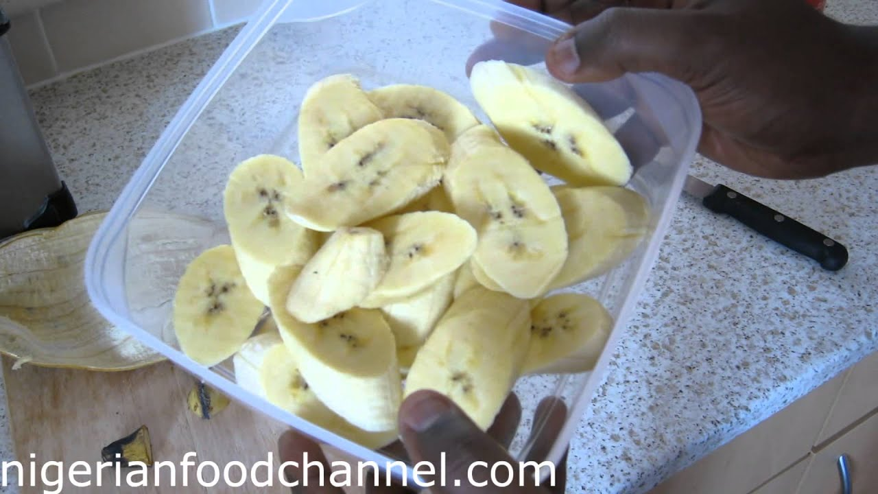 Cuisiner Le Plantain How To Fry Plantain Dodo Nigerian Food Recipes Nigerian Cuisine
