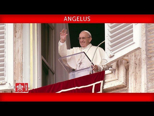 Papa Francisco - Oracão do Angelus 2018-11-04