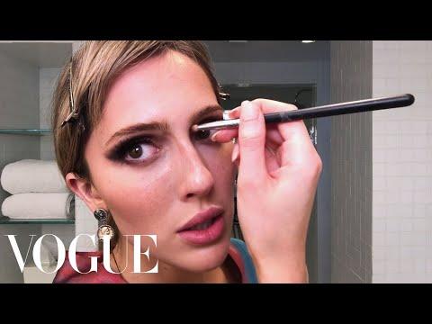 "TeddyQuinlivan'sGuide to  ""Fantasy Glamour"" Makeup  Beauty Secrets  Vogue"