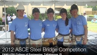 Students in the Vanderbilt Undergraduate ASCE Student Chapter: 2012 Projects & Competition