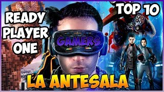 Top 10 Mejores Peliculas Para Gamers - La Antesala a Ready Player One | Top Cinema