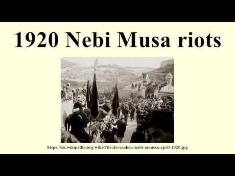 1920 Nebi Musa riots