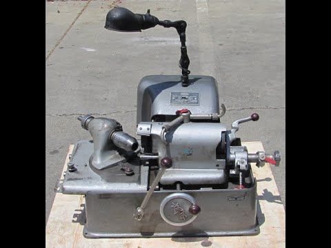 Sioux 645 Valve Refacer Face Grinder Grinding Machine With Coolant Pump