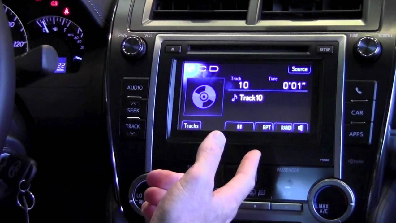 2012 toyota camry cd player how to by toyota city. Black Bedroom Furniture Sets. Home Design Ideas