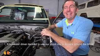 ENGINE STARTS! 20-Year-Old Land Cruiser Restoration. Part-12.Paul talks fuel systems.
