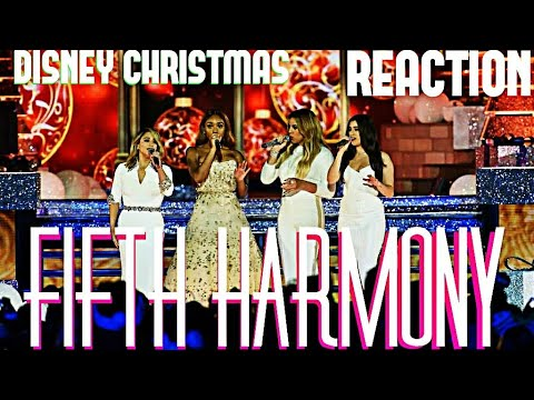 FIFTH HARMONY- THE CHRISTMAS SONG (REACTION)