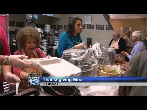 Rio Rancho McDonald's hands out Thanksgiving meals