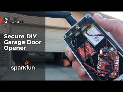 Project Showcase: Secure DIY Garage Door Opener