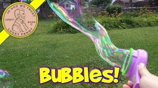 Disney Fairies Tinkerbell Bubble Fan Great Fairy Rescue....Outdoor Fun!
