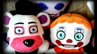 Sister Location Funko Plushies Review (Series 3)